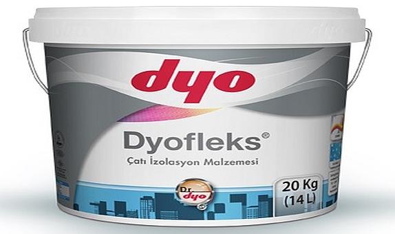 DYO, Dyofleks ile Çatılarda Tam Yalıtım Sunuyor