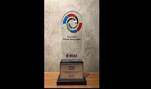 """Baumit """"Geleceğimizi Mantoluyoruz"""" Projesine İMSAD Geleceğe Yatırım Ödülleri'nden Ödül"""