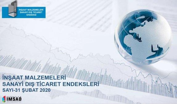 İMSAD Dış Ticaret Endeksi Şubat 2020 Sonuçları Açıklandı