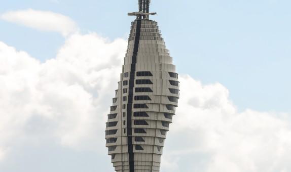 İstanbul TV ve Radyo Kulesi'nin Camları Şişecam'dan