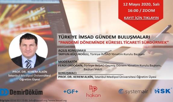 Türkiye İMSAD 33. Gündem Buluşmaları İnternet Üzerinden Gerçekleşecek