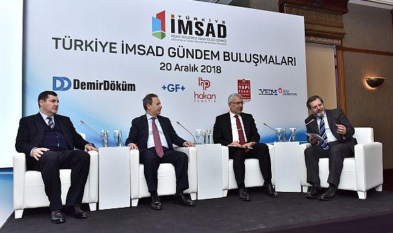 Türkiye İMSAD Gündem Buluşmaları'nda 'Dış Ticarette Tehditler ve Fırsatlar' Konuşuldu
