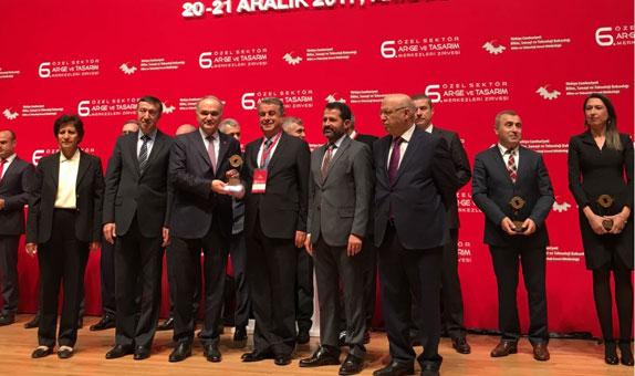 Şişecam Bilim ve Teknoloji Merkezi, Fikri Mülkiyet Yetkinliği Ödülü Aldı