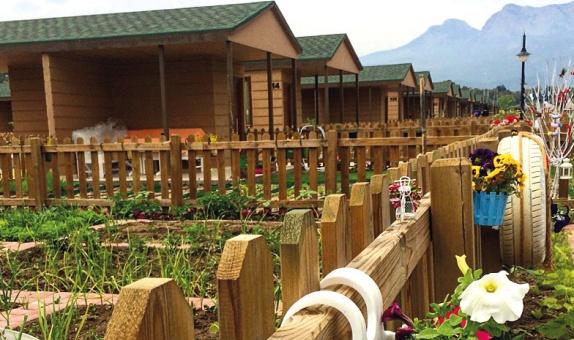 Antalya Belediyesi Hobi Bahçesi, BTM Shingle Ürünlerini Tercih Etti