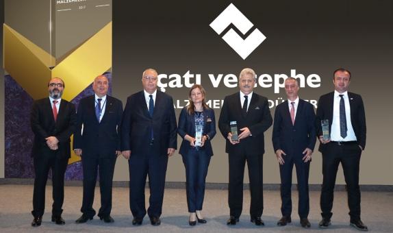 Ödüller Yapı İstanbul Fuarı'nda Verildi