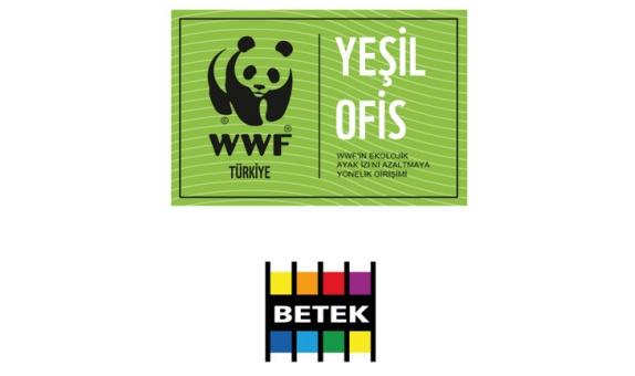 Betek Boya Genel Müdürlüğü, 'Yeşil Ofis' Diplomasına Hak Kazandı