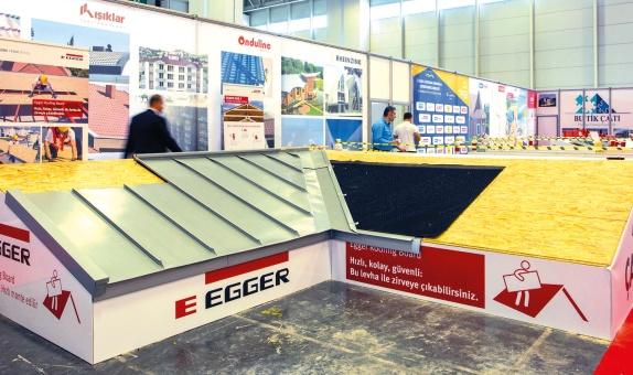 EGGER Yapı Ürünleri Grubu Yapı Fuarı'nda Ana Sponsorlar Arasında Yer Aldı