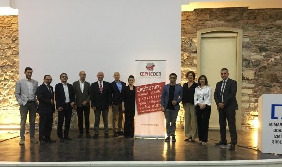 """Cephe Sanayici ve İş İnsanları Derneği (CEPHEDER)'nden """"İzmir Çıkarması"""""""