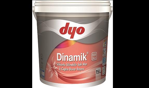DYO'dan İnsan ve Çevre Dostu İç Cephe Boyası: Dinamik Soft Mat